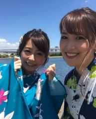 鷲見玲奈アナと宇垣美里アナTバック画像6