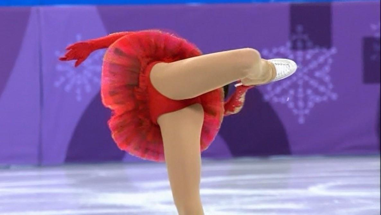 スケートをエロい角度で見た5