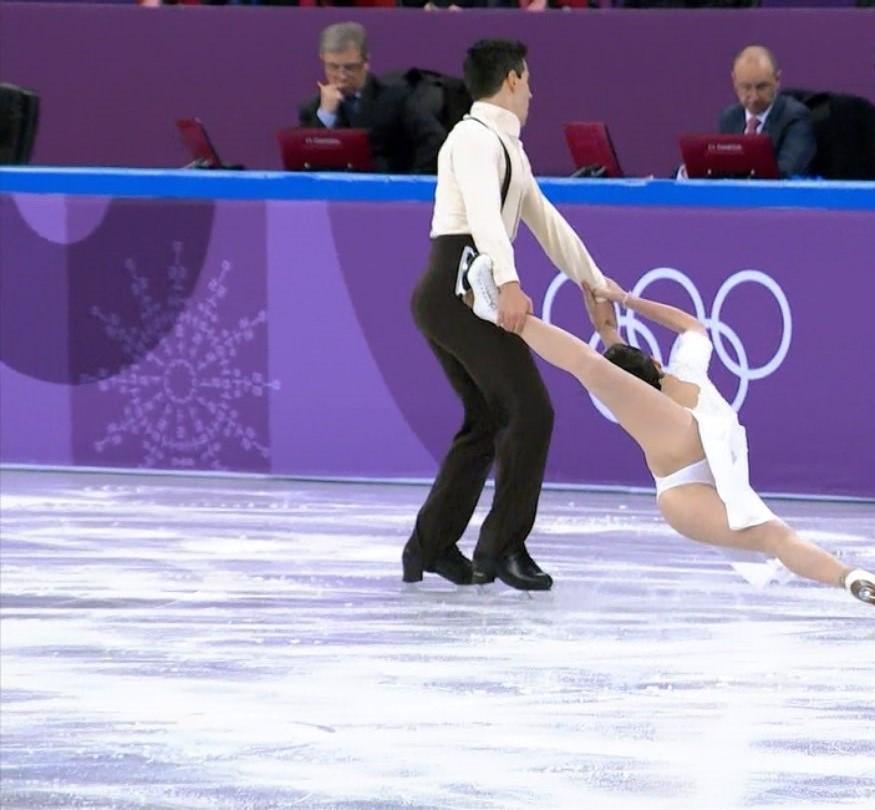 スケートをエロい角度で見た6
