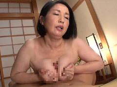 石井麻奈美 おっぱいフェチの息子に巨乳を揉まれた挙句、ハメられた母子SEX!