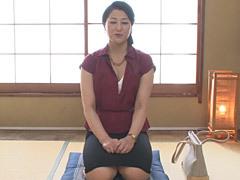 藍原かおる 巨尻が魅力の熟女(53歳)が他人棒を相手にスケベな交尾を披露!