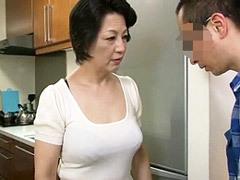 染谷京香 変態息子が五十路母とSEX!更にアナルにまで手を出して…
