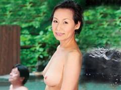東條志乃 見事な巨乳の高齢熟女が温泉旅行で愛する夫と久し振りの熟年交尾!
