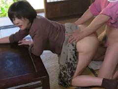 円城ひとみ 義兄の巨根が強引に…「抜いてください!」叫んでもハメられる巨乳の未亡人!