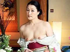 藍原かおる 華道教室の五十路先生が和服姿で中出しセックスに溺れる!