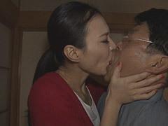 水原梨花 スレンダー嫁が義父と不倫して本気になり寝取られる!