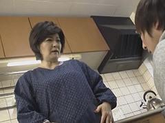 山口寿恵 思春期を迎えた孫を悩ます巨乳と巨尻が魅力の祖母と中出しSEX!