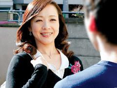 南澤ゆりえ オナニーでは満たされない未亡人の巨乳兄嫁に誘われてフェラ~禁断性交!