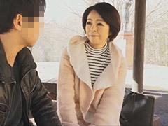 藍川京子 五十路母を一人のオンナとして愛した息子が温泉旅行で母子交尾!