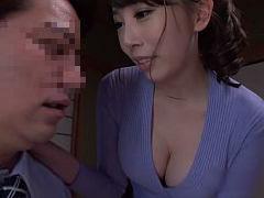 希咲あや オナニーでは満たされない美尻と巨乳が最高の人妻が夫の部下を誘惑して中出しSEX