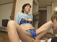 工藤留美子 五十路の義母と婿が禁断の中出しセックス!