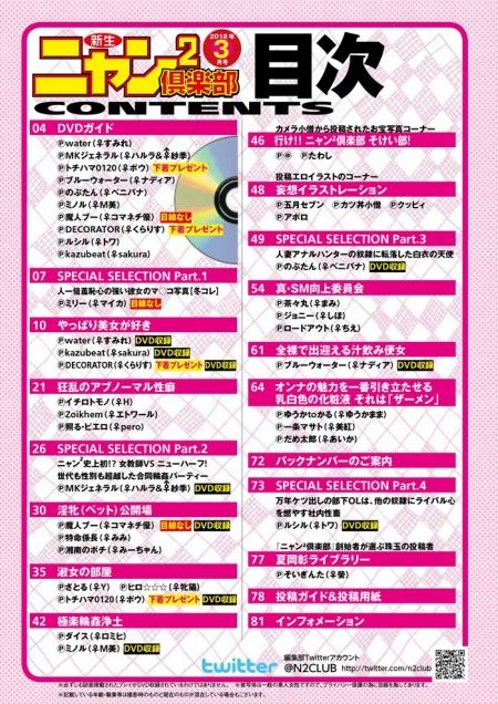 ニャン2倶楽部2018年3月号にSAKURAちゃんが掲載されます