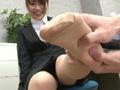 蒸れたリクスー姿の就活中女子大生のサムネイル画像2