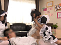 複数人の美人メイドにリフレクソロジーのサムネイル画像3