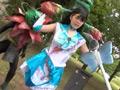 セーラープリズム 美少女戦士セーラーメディウム役を演じる長瀬あおいのサムネイル画像1