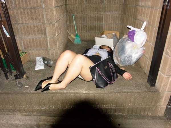 Drunk woman-image44
