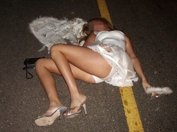 Drunk woman-image48