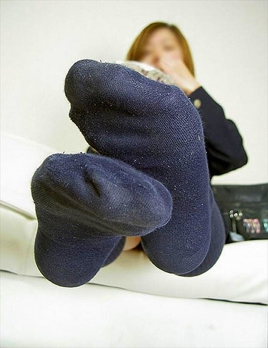 Socks sole fetish image6