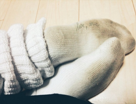 Socks sole fetish image24