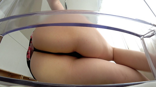 transparent chair-panty fetish3