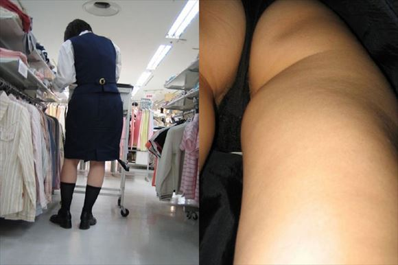 Shop clerk underwear voyeur images24