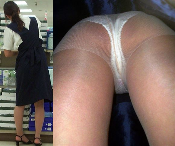 Shop clerk underwear voyeur images46