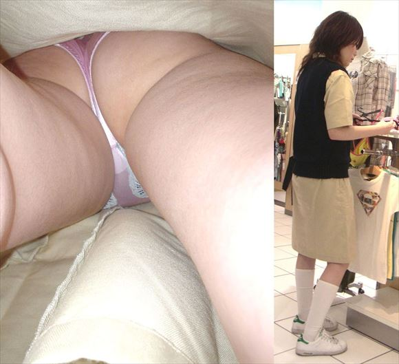 Shop clerk underwear voyeur images77