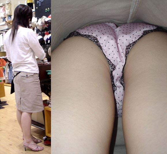 Shop clerk underwear voyeur images92