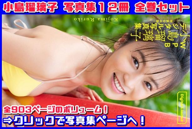 WPB 小島瑠璃子デジタル写真集〜特装合本版〜の表紙画像です