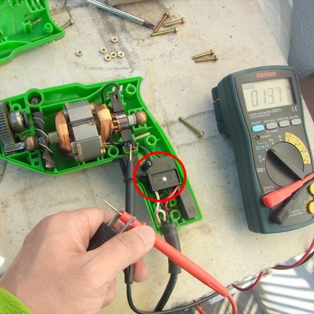 電気ドリルを分解修理 - マグマ大使の道具箱2