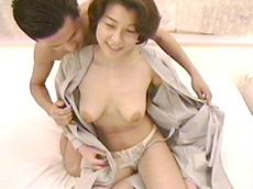 【無修正】巨乳三十路テレクラからホテトル嬢 和美