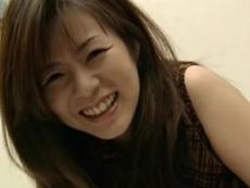 【無修正】微熟女の笑顔