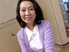 【無修正】藤川真紀子 初裏 言葉責めに悦ぶムッツリ四十路妻