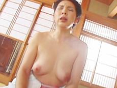 【無修正】四十路のむっつり町娘 花咲玲子