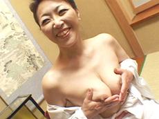 【無修正】白鳥祥子 五十路妻マ●コ大洪水