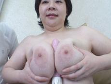 【無修正】山本まり子 「母性本能の強い巨乳熟女」
