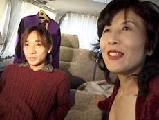 【無修正】山田千代子 初裏 美人五十路のガチンコ逆ナンパ