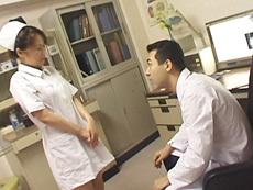 【無修正】四十路淫乱ナース、患者も医者も味見 佐藤紀江