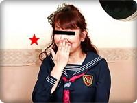 無料AVちゃんねる:【無修正素人・蒔田喜美子】【中出し】セーラー服姿で盛り上がる特大クリの熟女