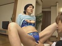 熟女ストレート:工藤留美子 五十路の義母と婿が禁断の中出しセックス!