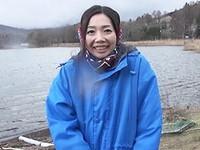 高齢人妻熟女動画 あっふ〜ん:河口湖湖畔で民宿を営むおばちゃんを訪ねてSEX三昧! 藤井菜々子