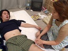 【無修正】竹村佳代 欲情お姉さんと朝勃ちエッチ
