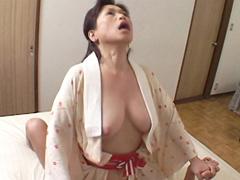 【無修正】【中出し】58歳で思い出した女の悦び 日野麻里子