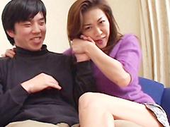 【無修正】桜田由加里が敏感男に痴女責め!