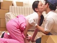 高齢人妻熟女動画 あっふ〜ん:引っ越し屋のパート主婦が仕事中にバイト喰い! 児玉るみ