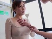 あだるとあだると : 【無】欲求不満な美巨乳妻がノーブラ胸ポチ姿で隣人を誘惑して懇願中出し♪