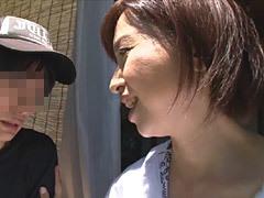 熟女ストレート : 神崎久美 田舎で農業を営む母と息子の性交渉