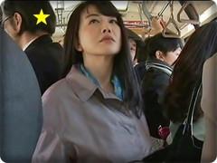 無料AVちゃんねる : 【ヘンリー塚本】満員通勤バスでオトコを狙う下半身の疼く熟女(浅井舞香/他 全4話)