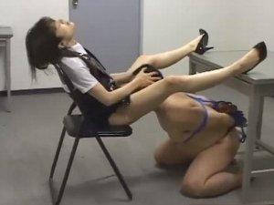 ミニスカポリス痴女