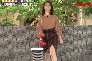福田典子アナが瓦割りパンチラ公開して完全放送事故wwwwwwww